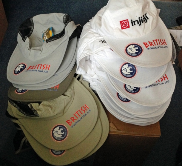 2015 British Spartathlon Team Hats