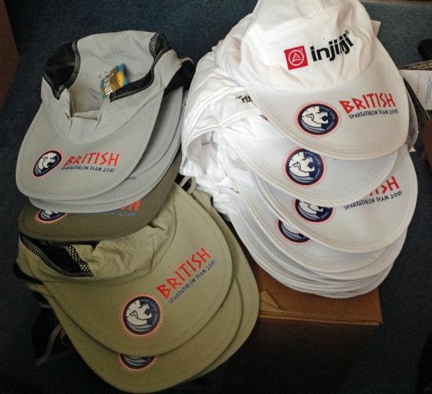 2015 British Spartathlon Team Hats