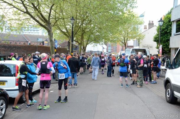2015 Grand Union Canal Race - British Spartathlon Team