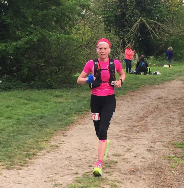 2015 Thames Path 100 Mimi Anderson - British Spartathlon Team