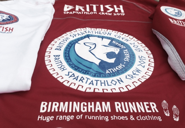 2015 British Spartathlon Team Birmingham Runner Sponsor