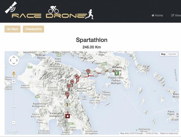 2015 British Spartathlon Team RaceDrone Sponsor