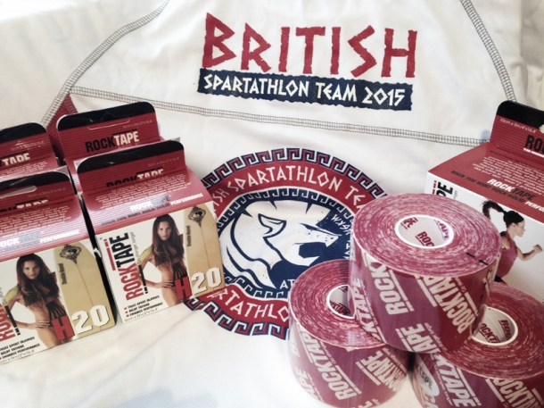 2015 British Spartathlon Team Rocktape Sponsor