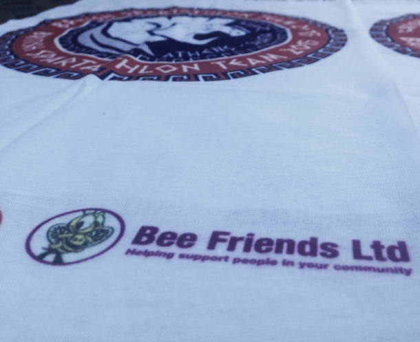 2015 British Spartathlon Team Sponsor Bee Friends