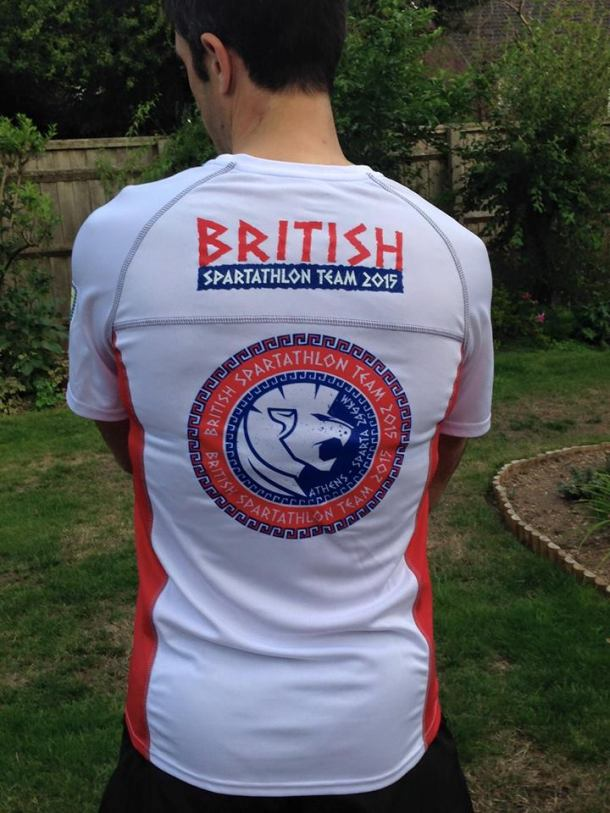 British Spartathlon Team Kit 01