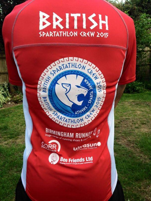 British Spartathlon Team Kit 02