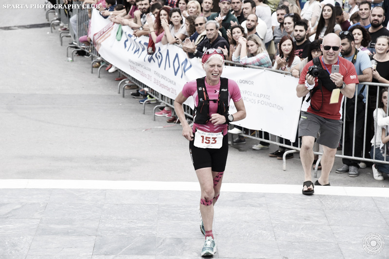 2015 British Spartathlon Team Mimi Anderson