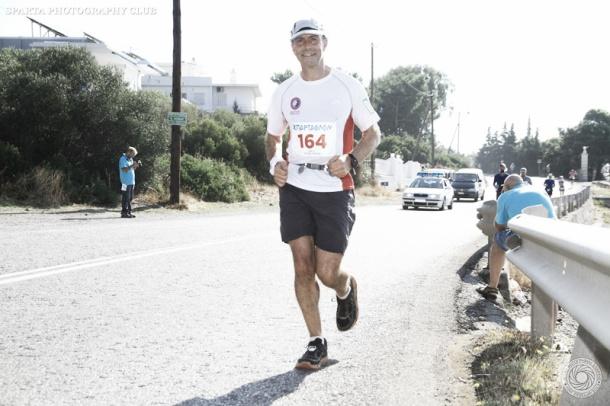 2015 British Spartathlon Team Paul Rowlinson