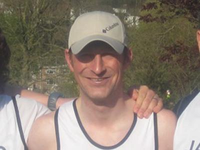 2016 British Spartathlon Team Darren Strachan