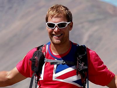 2016 British Spartathlon Team - Barry Miller